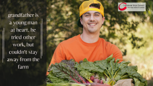 Canadian Visa Expert: the farmer grandson