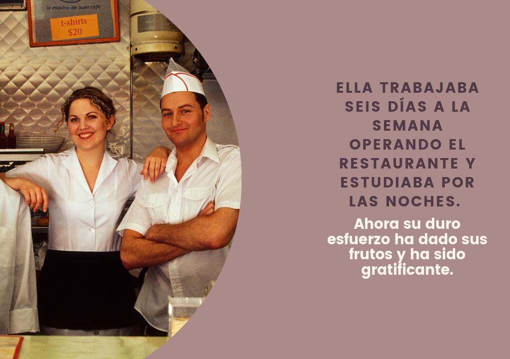 Propietaria de Restaurante es una Historia de Éxito de Inmigración Canadiense