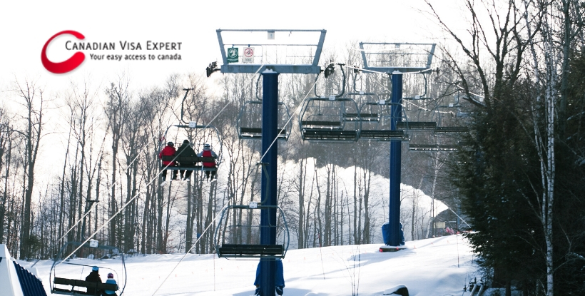 Immigrant Paid to Learn French Working at Quebec Ski Resort