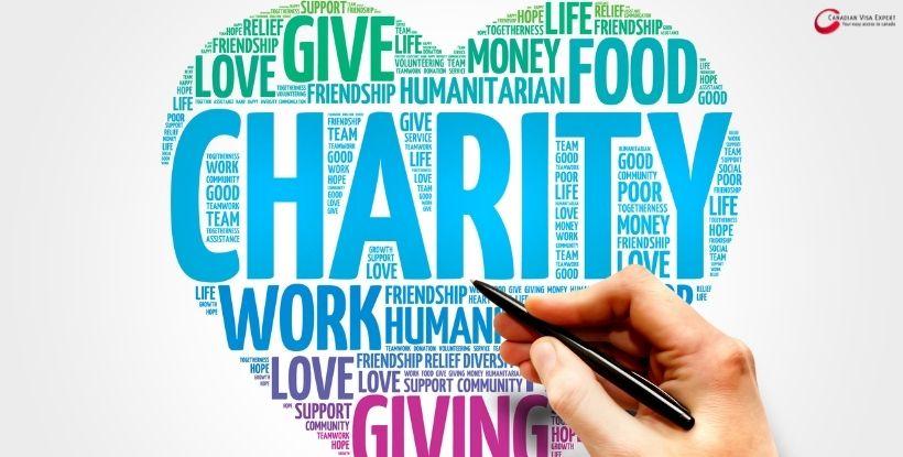Canadian Visa Expert: Charity